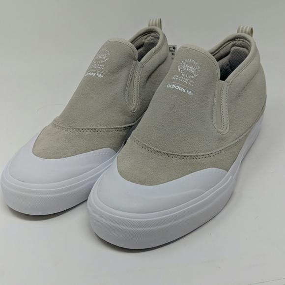 Adidas MatchCourt Mid Slip Skate Shoes